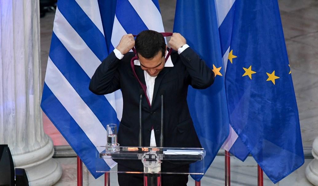 Ο Τσίπρας φόρεσε αλλά όχι για πολύ γραβάτα – Τι είπε ο πρωθυπουργός στο Ζάππειο | Pagenews.gr