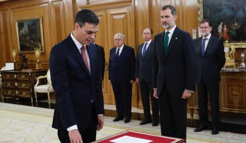 Ισπανία: Ορκίστηκε νέος πρωθυπουργός ο Πέδρο Σάντσεθ (pics&vid) | Pagenews.gr