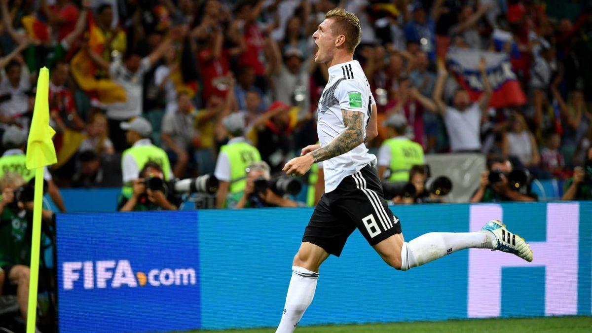 Η γκολάρα του Κρόος στο 95′ που χάρισε τη νίκη στη Γερμανία (vid) | Pagenews.gr