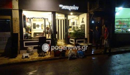 Μάνδρα: Εφιαλτική νύχτα – Πλημμύρισε και πάλι η περιοχή (pics&vid) | Pagenews.gr
