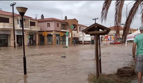 Μάνδρα: Νέα προβλήματα λόγω βροχόπτωσης (pics) | Pagenews.gr