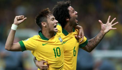 Δάκρυα: Ο Μαρσέλο… τρολάρει τον Νεϊμάρ στην προπόνηση της Βραζιλίας (vid) | Pagenews.gr