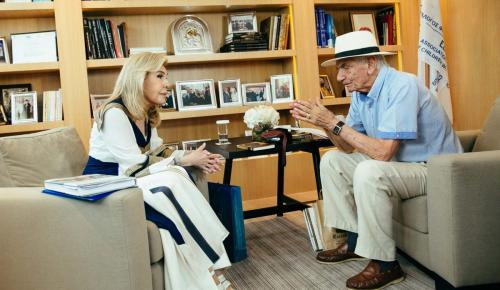 Μαριάννα Βαρδινογιάννη: Μια ξεχωριστή συνέντευξη στον Βασίλη Βασιλικό (vid) | Pagenews.gr