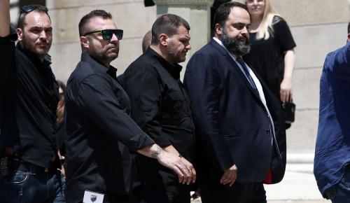 Στην κηδεία του Γιαννακόπουλου ο Βαγγέλης Μαρινάκης   Pagenews.gr