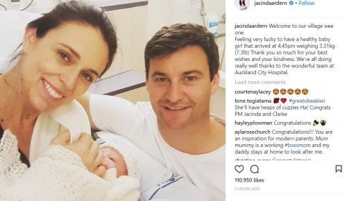 Νέα Ζηλανδία: Η πρωθυπουργός Τζασίντα Άρντερν έγινε μητέρα (vid)   Pagenews.gr