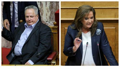 Μπακογιάννη: Προκαλώ τον Κοτζιά να καταθέσει τα έγγραφα για το Σκοπιανό   Pagenews.gr