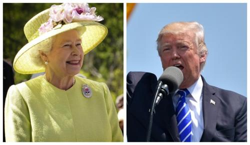 Τραμπ: Συνάντηση με τη βασίλισσα Ελισάβετ στη Βρετανία | Pagenews.gr