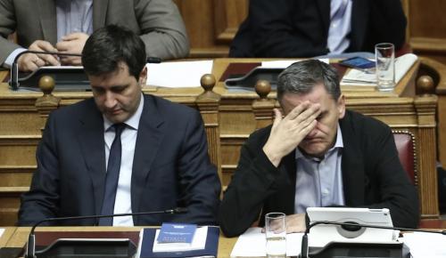 Τσακαλώτος σε Δημοκρατική Συμπαράταξη: Tο ΔΝΤ εσείς το φέρατε | Pagenews.gr