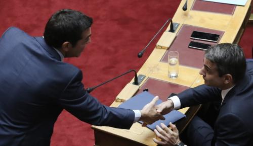 Δημοσκόπηση: «Μάχη» ΣΥΡΙΖΑ – ΝΔ στις εκλογές – Στο 7% οι αναποφάσιστοι | Pagenews.gr