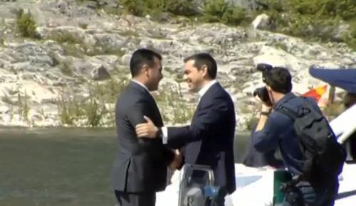 FAZ: Ιστορική συμφωνία στις Πρέσπες | Pagenews.gr