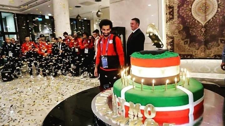 Μουντιάλ 2018: Μία τεράστια τούρτα για τα γενέθλια του Σαλάχ | Pagenews.gr