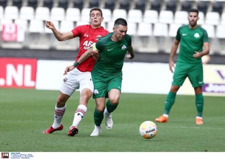 Παναθηναϊκός: Ξεκίνημα με ήττα στα φιλικά, 2-0 από την Αλκμάαρ | Pagenews.gr