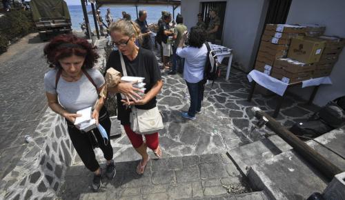 Δημαρχείο Ραφήνας: Δεν υπάρχει πια ανάγκη για ρούχα και τρόφιμα   Pagenews.gr