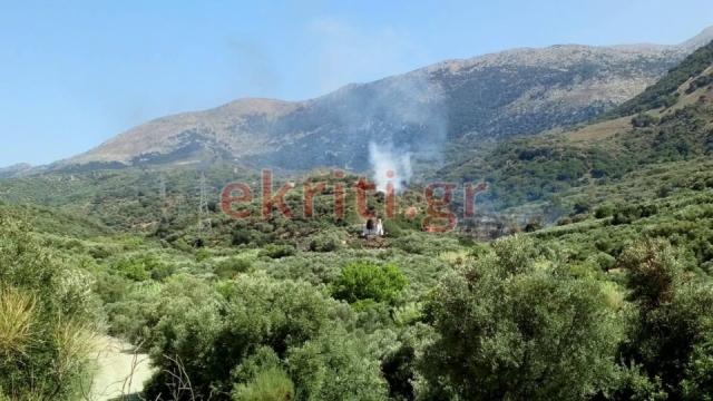 Φωτιά: Σε ύφεση τα δύο πύρινα μέτωπα στην Κρήτη (pic)   Pagenews.gr