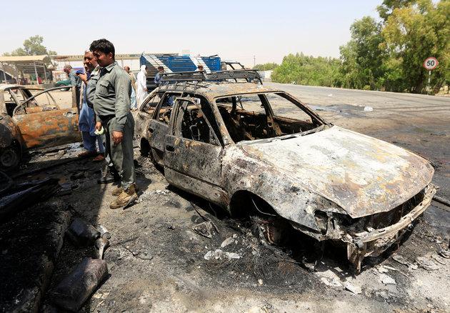 Αφγανιστάν: Τουλάχιστον 7 νεκροί σε επίθεση αυτοκτονίας κοντά σε υπουργείο   Pagenews.gr