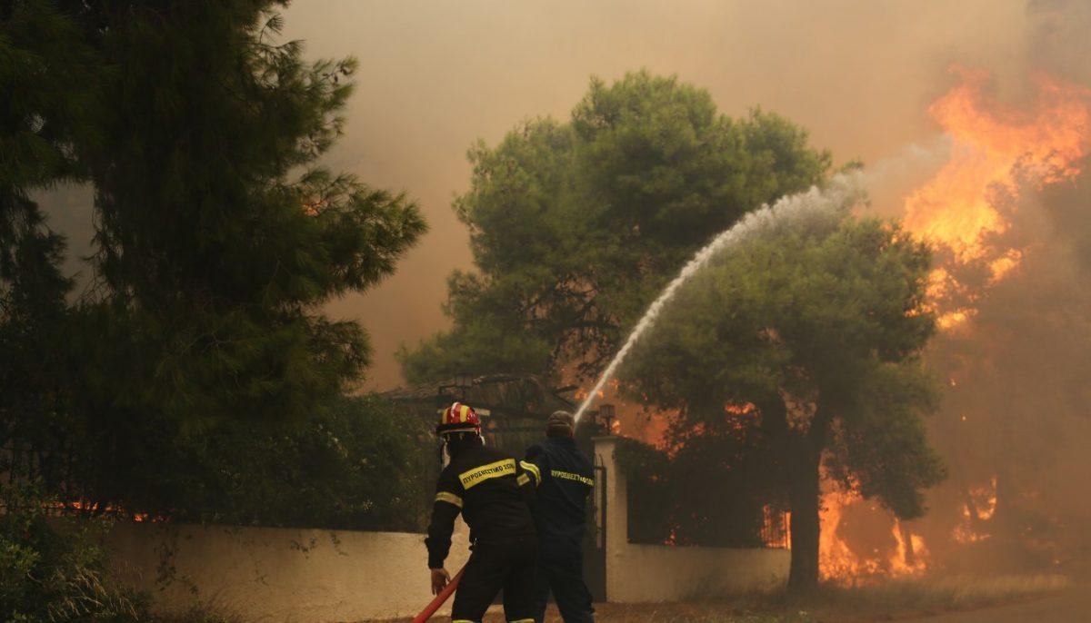 Φωτιά Κινέτα: Πύρινη κόλαση κυκλώνει την Αθήνα – Καίγονται σπίτια και περιουσίες (pics&vid) | Pagenews.gr