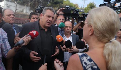 Bild: Ο λαϊκιστής Καμμένος λογομαχούσε με τους επιζώντες | Pagenews.gr
