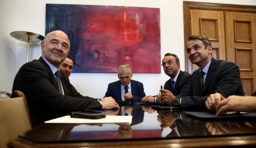 Ο Μητσοτάκης «μάλωσε» τον Μοσκοβισί – «Να είσαι πιο προσεχτικός» | Pagenews.gr