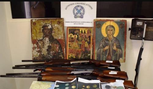 Κάτω Αχαΐα: Δύο συλλήψεις για αρχαιοκαπηλία και οπλοκατοχή (pics) | Pagenews.gr