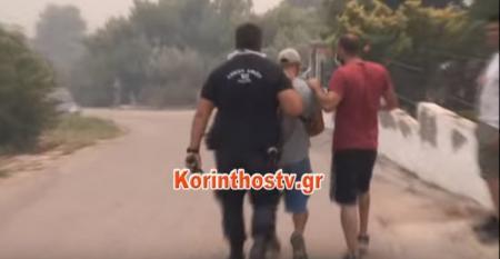 Φωτιά Κινέτα: Προσαγωγή υπόπτου για την πυρκαγιά (vid) | Pagenews.gr