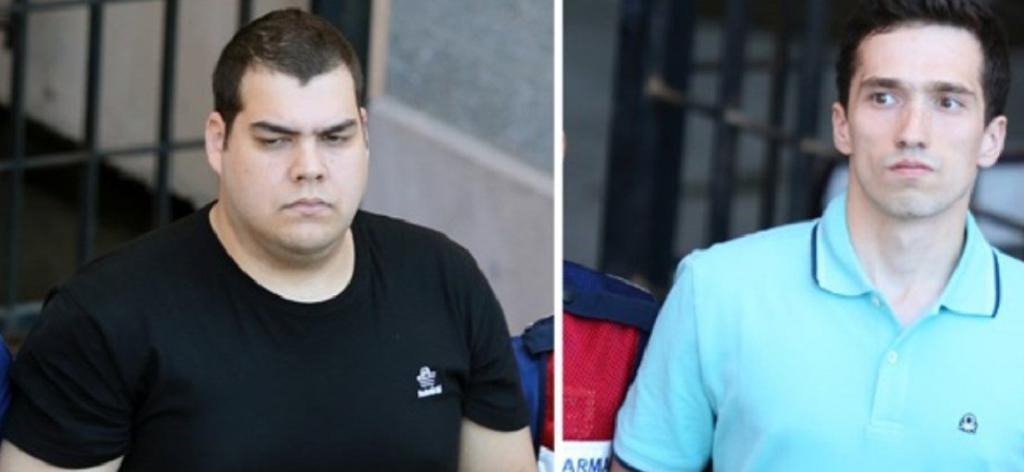 Νέες εικόνες από τους δύο Έλληνες στρατιωτικούς στην Τουρκία μετά το νέο όχι | Pagenews.gr