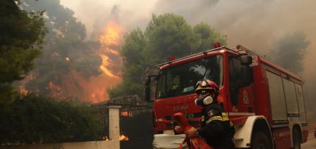 Πολύ υψηλός κίνδυνος πυρκαγιάς σήμερα (χάρτης) | Pagenews.gr