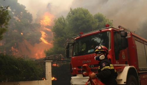 Πολύ υψηλός κίνδυνος πυρκαγιάς σήμερα (χάρτης)   Pagenews.gr