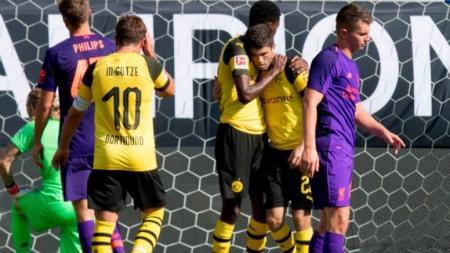 Liverpool – Dortmund 1-3: Τα στιγμιότυπα του σπουδαίου φιλικού (vid) | Pagenews.gr