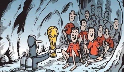 Μουντιάλ 2018: Η FIFA στέλνει στον τελικό τα παιδιά που εγκλωβίστηκαν στην Ταϊλάνδη | Pagenews.gr