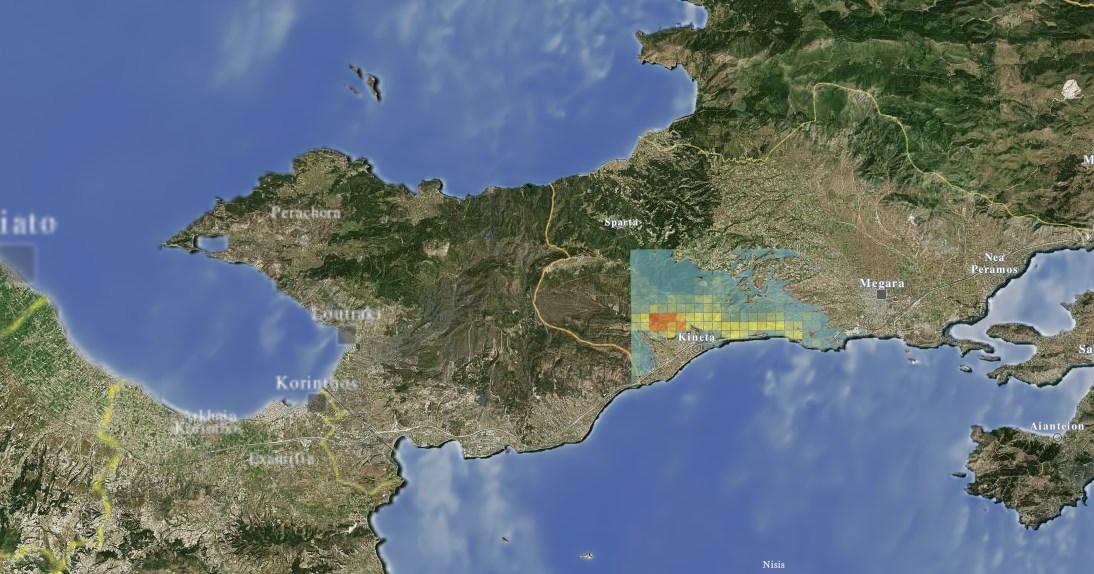 Φωτιά Κινέτα: Δείτε live την εξέλιξη της πυρκαγιάς   Pagenews.gr