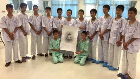 Ταϊλάνδη: Οι μικροί «Αγριόχοιροι» θρηνούν τον εθελοντή δύτη που πέθανε προσπαθώντας να τους σώσει | Pagenews.gr