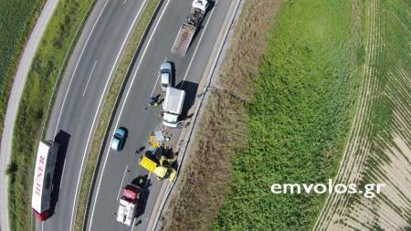 Σοκάρουν οι εικόνες από την καραμπόλα στην Εγνατία οδό (pics&vid) | Pagenews.gr