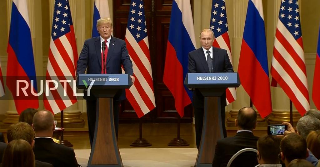 Τραμπ – Πούτιν: Η κοινή συνέντευξη Τύπου των δύο ηγετών | Pagenews.gr