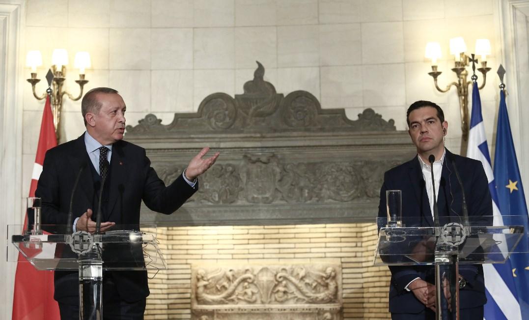 Τέλος η συνάντηση Τσίπρα – Ερντογάν: Ο Τούρκος πρόεδρος έδιωξε τους δημοσιογράφους | Pagenews.gr