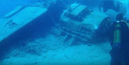 Κρήτη: «Βουτιά» στην ιστορία – Αεροσκάφος του Β' Παγκοσμίου στο βυθό της Χερσονήσου (vid) | Pagenews.gr