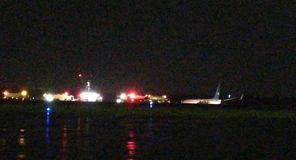 Boeing 737 προσέκρουσε σε διάδρομο προσγείωσης στη Μανίλα | Pagenews.gr