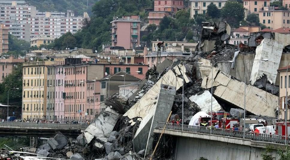 Γένοβα: Στους 39 οι νεκροί από την κατάρρευση της γέφυρας | Pagenews.gr