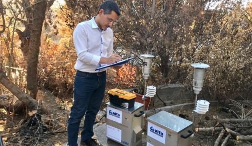 RPSOS.GR: Εγκατάσταση σταθμών μέτρησης ποιότητας αέρα στις πυρόπληκτες περιοχές   Pagenews.gr