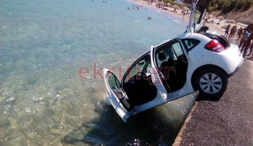 Κρήτη: Έπεσε στη θάλασσα με το αυτοκίνητο (pics)   Pagenews.gr