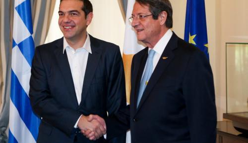 Συνάντηση Τσίπρα – Αναστασιάδη στο Μέγαρο Μαξίμου | Pagenews.gr
