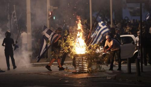 Εισαγγελική παρέμβαση για τον οπλοφόρο διαδηλωτή στα επεισόδια | Pagenews.gr