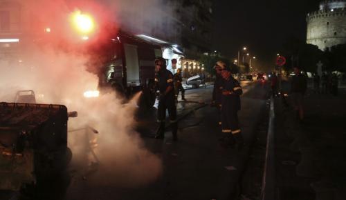 Θεσσαλονίκη: Συλλήψεις και εκτεταμένες ζημιές για τη Συμφωνία των Πρεσπών | Pagenews.gr