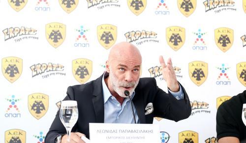 Παραιτήθηκε ο εμπορικός διευθυντής της ΑΕΚ, Λεωνίδας Παπαβασιλάκης | Pagenews.gr