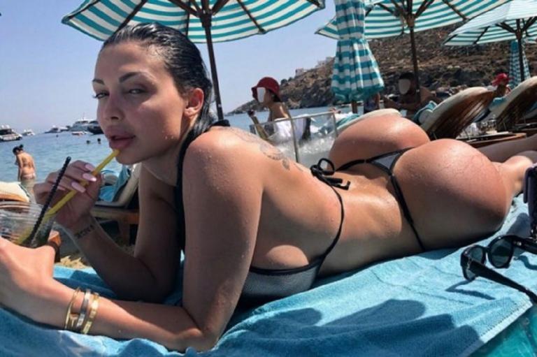 Διάσημη πορνοστάρ «έβαλε φωτιά» στη Μύκονο με το μικροσκοπικό μαγιό της | Pagenews.gr