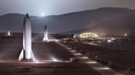 Ο Έλον Μασκ παρουσίασε τη διαστημική βάση που οραματίζεται στον Άρη (pics) | Pagenews.gr
