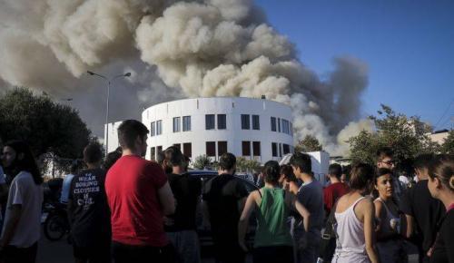 ΦΩΤΙΑ ΗΡΑΚΛΕΙΟ: Τι ανέφερε ο πρύτανης του Πανεπιστημίου | Pagenews.gr