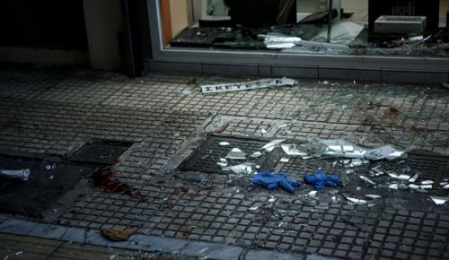 Αιματηρή απόπειρα ληστείας στο κέντρο – Ένας τραυματίας (pics)   Pagenews.gr