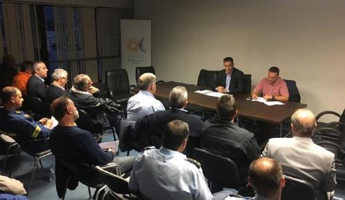 Έκτακτη συνεδρίαση Συντονιστικού Οργάνου Πολιτικής Προστασίας βόρειας Αθήνας | Pagenews.gr