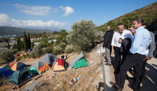 Μητσοτάκης: Θλιβερή η κατάσταση στο κέντρο φιλοξενίας της Σάμου | Pagenews.gr