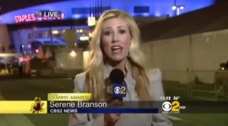 Serene Branson: Η στιγμή που παθαίνει εγκεφαλικό στον αέρα δελτίου ειδήσεων | Pagenews.gr